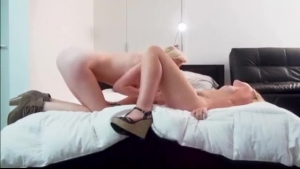 Skinny Holly is the only prostitute with glamour who lets guys team up with her to fuck her