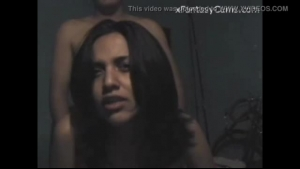 Strapon slut got tied up and tortured for the first time and enjoyed every second of it
