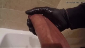 A straight guy is getting a big, cock- hungry dick deep inside his wet muff